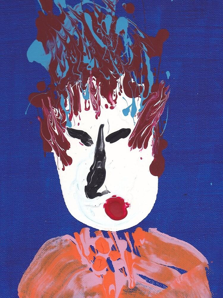«Geisha - Martin Boisvert - Face à flaques» par martinb1962