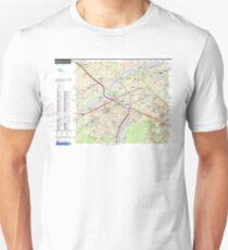 Sector Hauts-de-Seine North - Paris - RER - Train - Metro - Tram - France Unisex T-Shirt