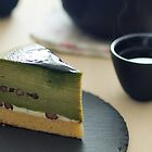 Matcha Mille Crepe and Sencha by the-novice