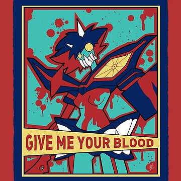 GIVE ME YOUR BLOOD by jayrokk