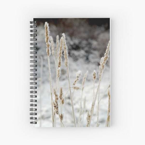 Frosty Morning Spiral Notebook