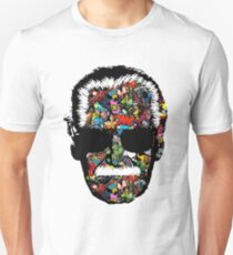 Stan Lee - Many Face Unisex T-Shirt