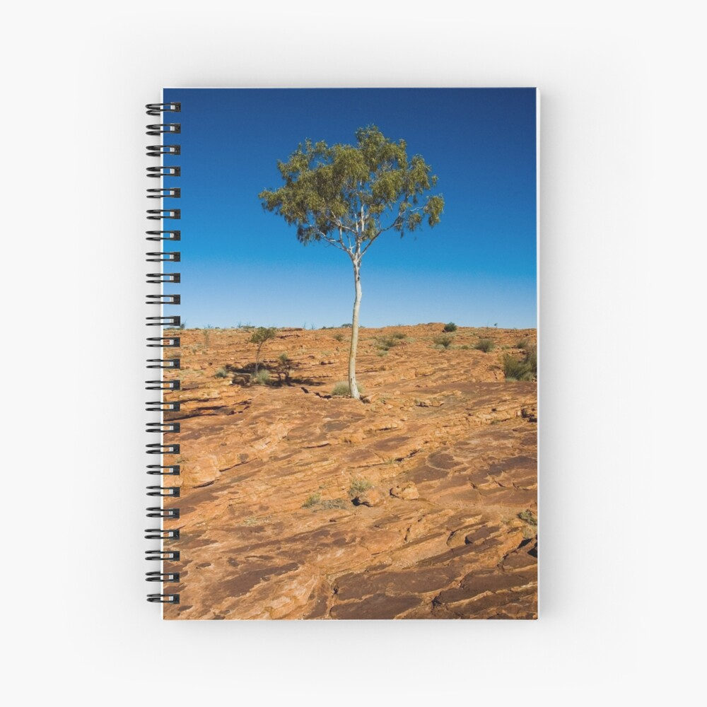 Lone Tree - Kings Canyon Spiral Notebook