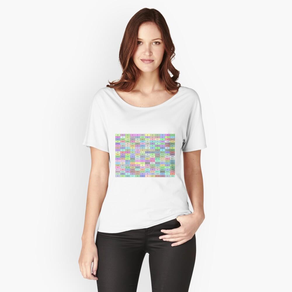 Lexis Rex Japanese Starter Set Women's Relaxed Fit T-Shirt Front