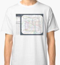 RER and Transiliens Plan - Paris / Paris Area / Ile-de-France - France Classic T-Shirt