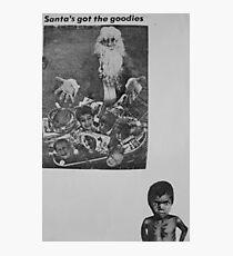 Santa's Got The Goodies Photographic Print