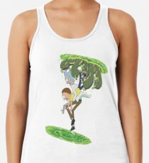 Rick and Morty - Portal Hopping Racerback Tank Top