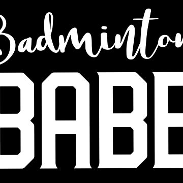 Badminton babe by jazzydevil