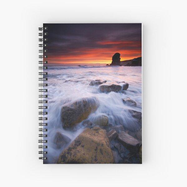 Winters dawn Spiral Notebook