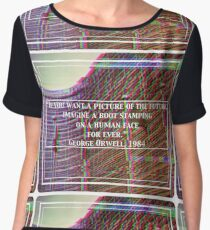 George Orwell 1984 - Brussels Chiffon Top