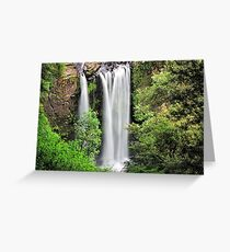 Top View of Hopetoun Falls Greeting Card