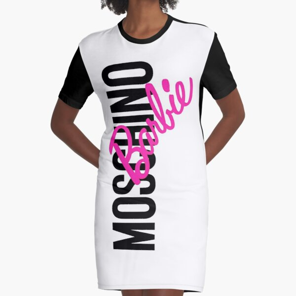 Moschino Barbie Graphic T-Shirt Dress