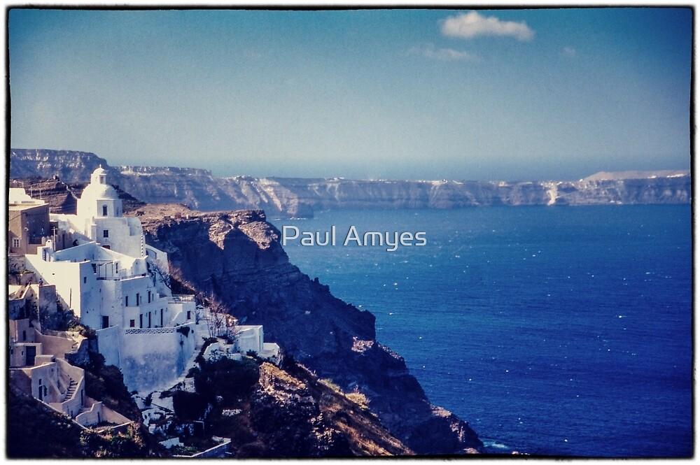 Santorini Caldera by Paul Amyes