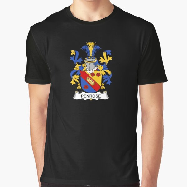 Penrose Coat of Arms - Family Crest Shirt Graphic T-Shirt