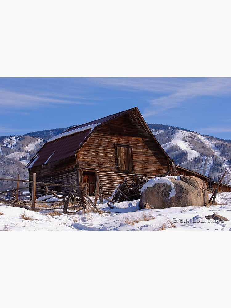 Steamboat Barn, Daytime Icon by greggl