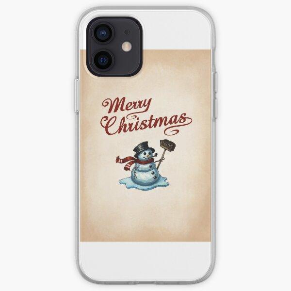 Snowman iPhone Soft Case