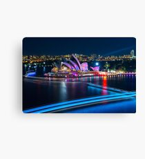 Colours of the Opera Canvas Print