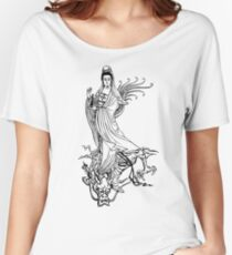 Camiseta ancha Quan Yin o Kwan Yin o Kuan Yin