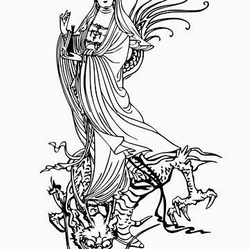 Quan Yin or Kwan Yin or Kuan Yin by buddhabubba