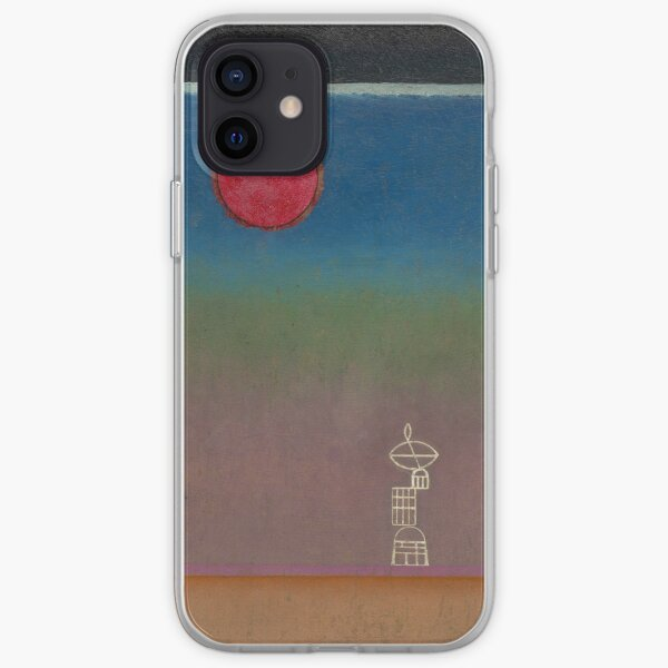 Kandinsky - Far Away, abstract art iPhone Soft Case