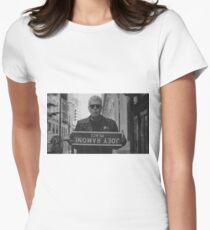 Anthony Bourdain Ramones Women's Fitted T-Shirt