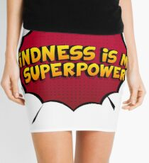 Kindness is My Superpower Choose Kind Anti Bullying Mini Skirt