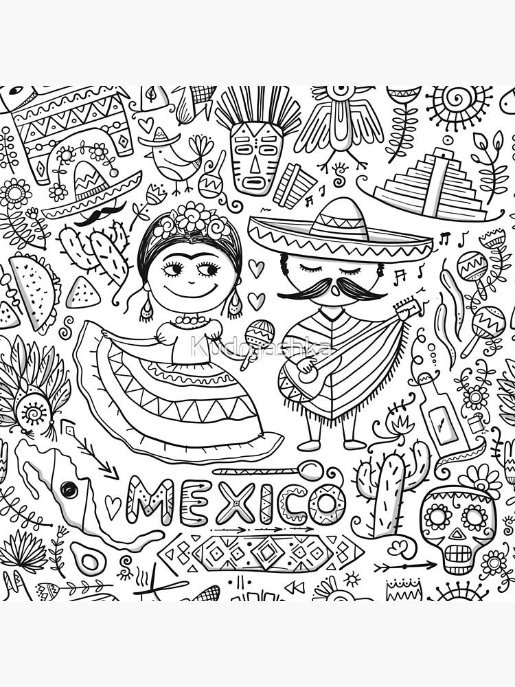 Mexiko von Kudryashka