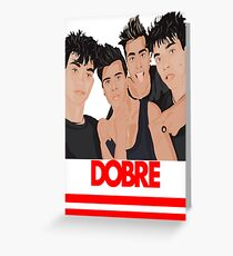 Dobre Twins - Dobre Brothers tshirt Greeting Card