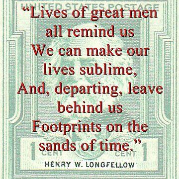 Lives Of Great Men - Longfellow by CrankyOldDude