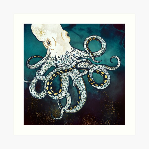 Underwater Dream VII Art Print