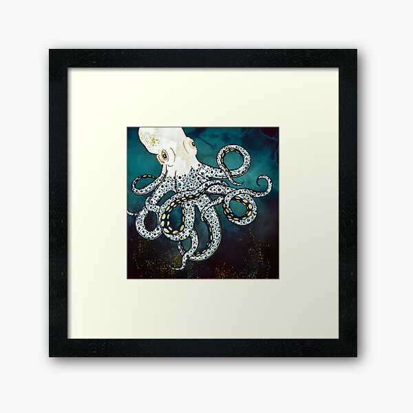 Underwater Dream VII Framed Art Print