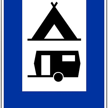 Camping Sign by aeilos