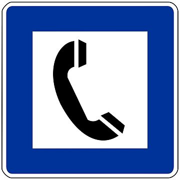 Telephone Sign by aeilos