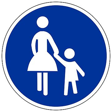Mother & Child Sign by aeilos