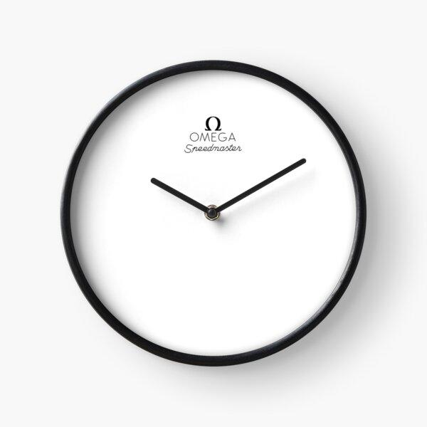 Omega Speedmaster Logo Clock
