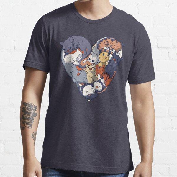 Cat Heart Essential T-Shirt