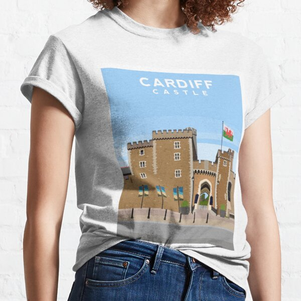 Cardiff Castle, South Wales Classic T-Shirt