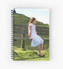 Looking out at One Tree Hill Spiral Notebook
