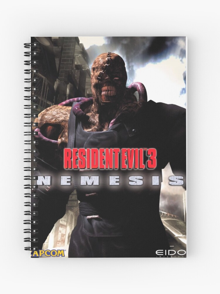 Nemesis Resident Evil 3 Nemesis 1999 Cover Art Spiral