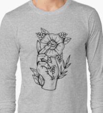 Hand Rose Long Sleeve T-Shirt