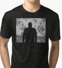 Devil in a snowstorm Tri-blend T-Shirt