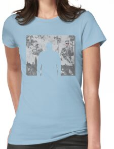 Devil in a snowstorm Womens Fitted T-Shirt