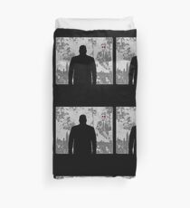 Devil in a snowstorm Duvet Cover