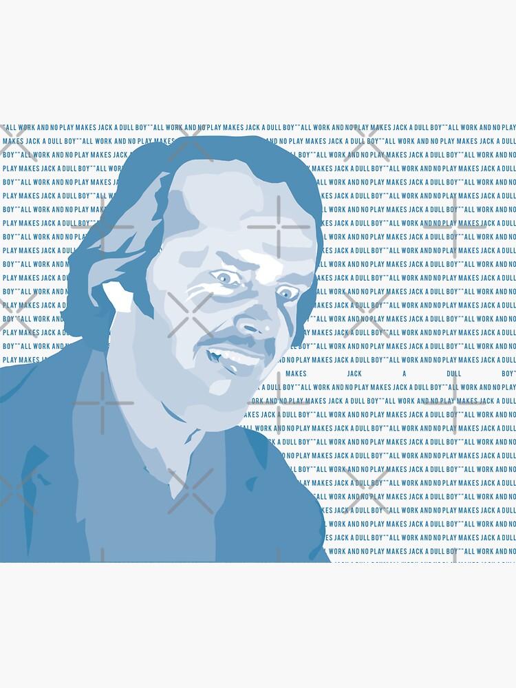Jack Torrance by mayerarts