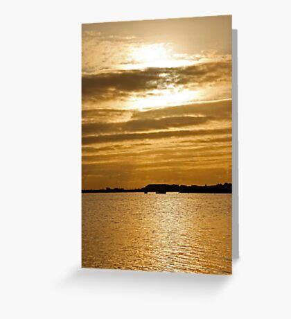 Malahide Sunrise Greeting Card