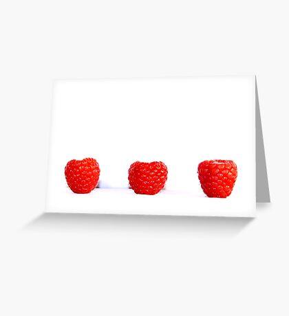 Blowing Berries Greeting Card