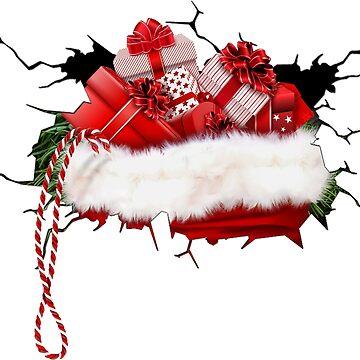 Christmas Present Gift Ideas X-Mas Motif by deichmonster