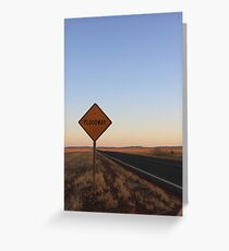 Floodway Greeting Card