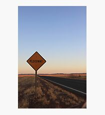 Floodway Photographic Print
