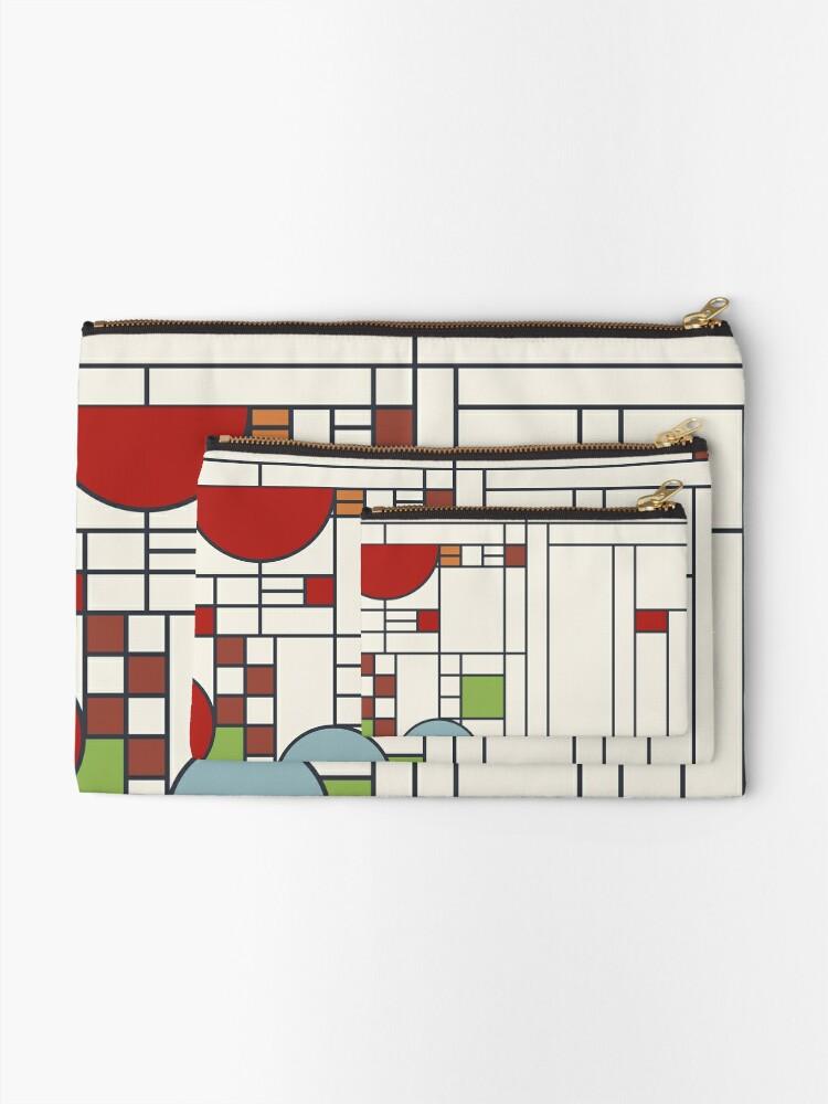 Vista alternativa de Bolsos de mano Frank Lloyd Wright S02